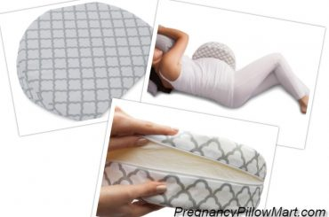 Materials and style of the pillow, pregnant women sleeping with Boppy Pregnancy Pillow Wedge