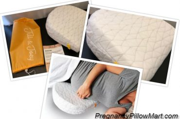 Jill and Joey Pregnancy Pillow Wedge – A Maternity Pillow With Full Back And Belly Support