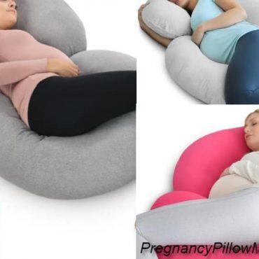 PharMeDoc C-Shaped Body Pillow – The Multipurpose Pregnancy Pillow