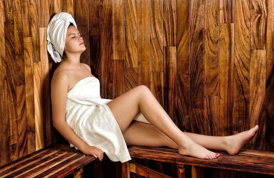 Pregnant Woman Taking Sauna During Pregnancy