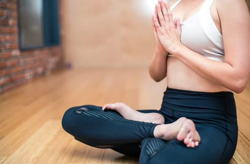 Woman Doing Meditation During Pregnancy